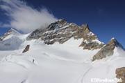 展望台施設/アレッチ氷河とユングフラウ