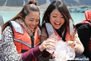 タスマン氷河湖クルーズ(グレイシャーエクロプローラー)