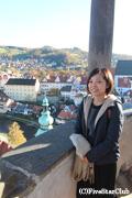 チェスキークロムロフ城/城の塔