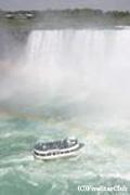 カナダ滝と霧の乙女号(ナイアガラ)(イメージ)