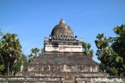 ワット・ビスンナラート/ワット・マークモーの名の通り丸い仏塔
