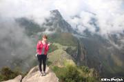 ワイナピチュ山頂にて