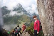 ワイナピチュから見たマチュピチュ(マチュピチュ村)