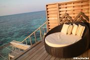 Amari Havodda Maldives/夕暮れが近づく(ガーフダール環礁)