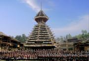 1年に一度行われる小黄村の大歌祭り