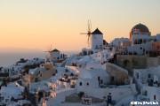 息をのむほど美しいイアの夕日(サントリーニ島)