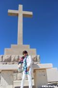 スルジ山頂上の十字架