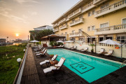 Victoria Chau Doc Hotelプール