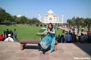 インドに行ったら一度はサリーを着てみたい!