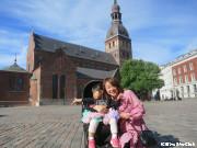リガ大聖堂と私たち