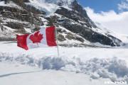 氷河の上でフリータイム