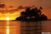 美しい夕陽