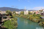 スターリ・モスト橋から眺めるモスタル